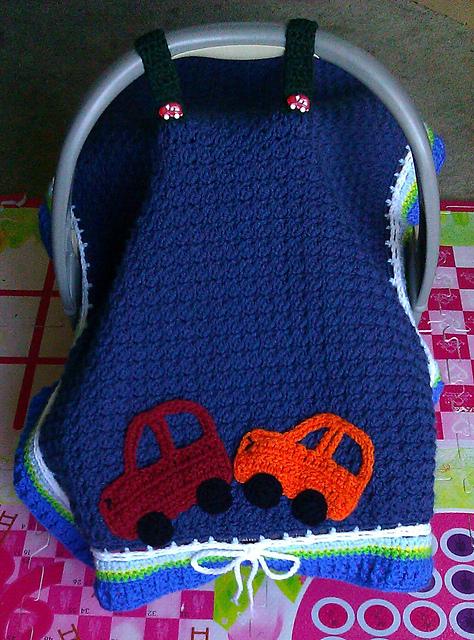 Blanket Under Car Seat