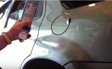 Fix A Small Dent In A Car
