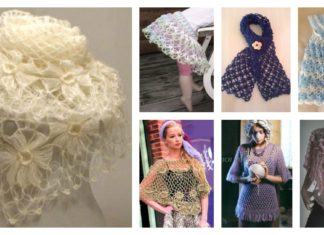 Crochet Solomon Knot Free Pattern and Projects