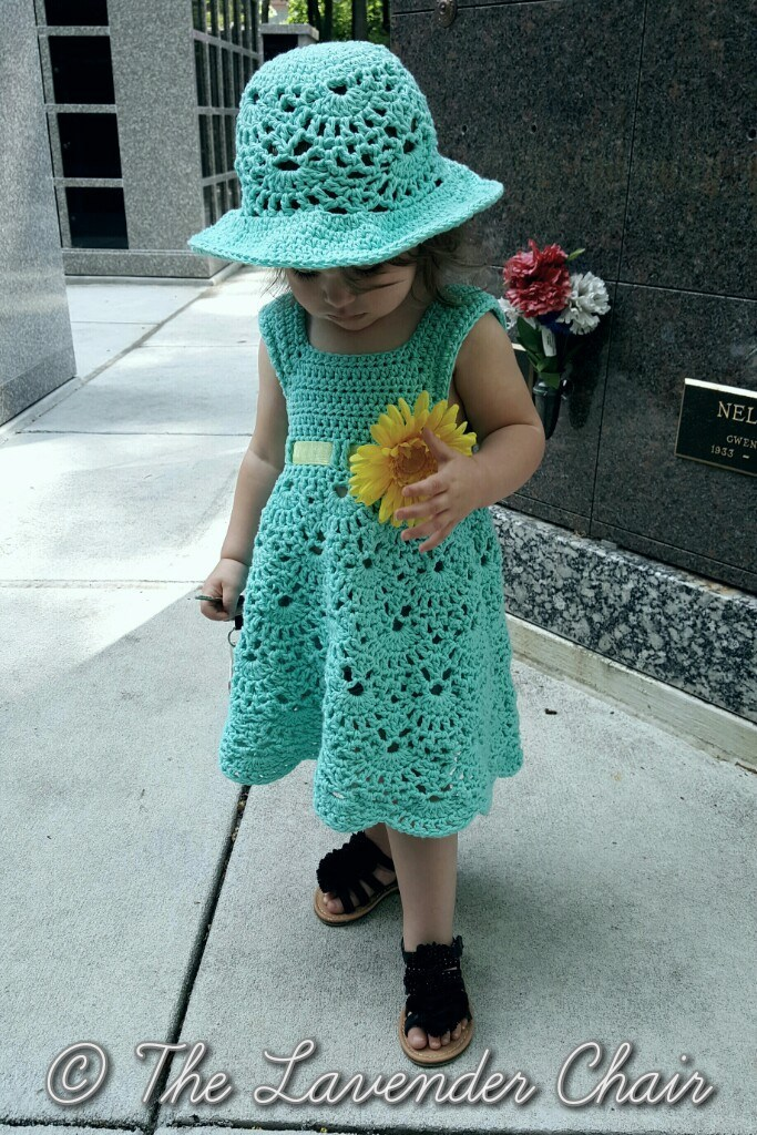 Free Crochet Pattern For Girl Dresses : 20+ Crochet Girl Dress with Free Pattern - Page 4 of 4