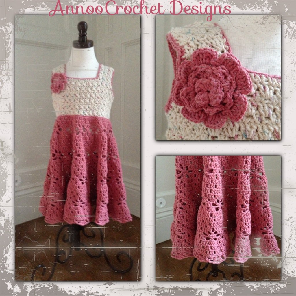 Free Printable Crochet Dress Patterns : 20+ Crochet Girl Dress with Free Pattern - Page 2 of 4