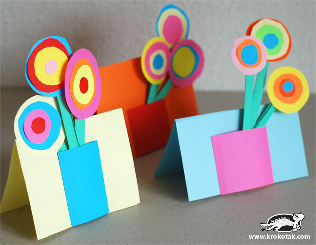 Mothers Day Craft for Kids-Bouquet for MOM