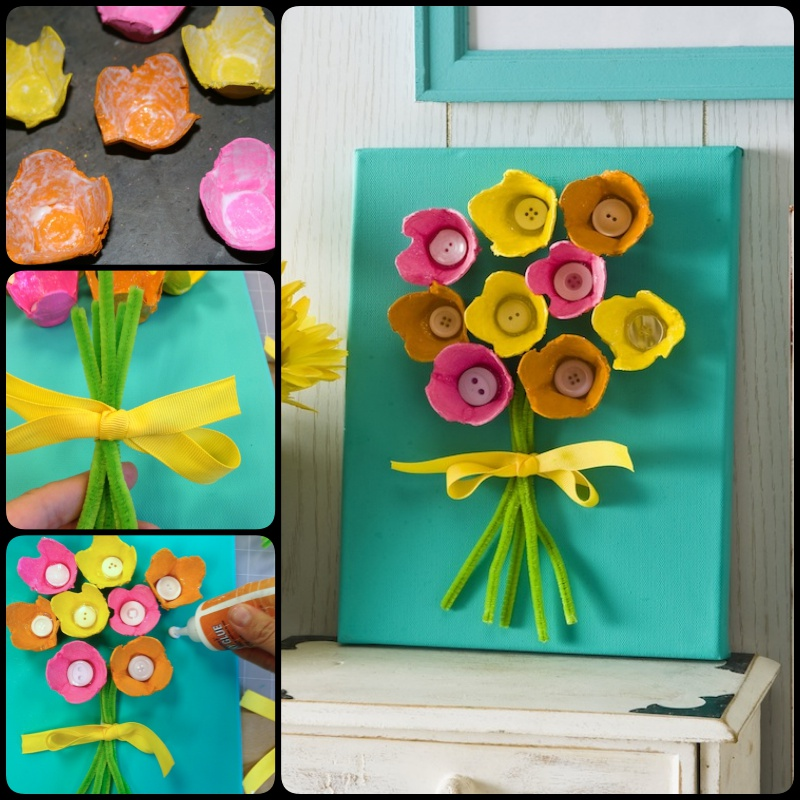 20 DIY Mother's Day Craft Project Ideas