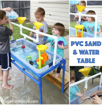 PVC Pipe Sand and Water Table