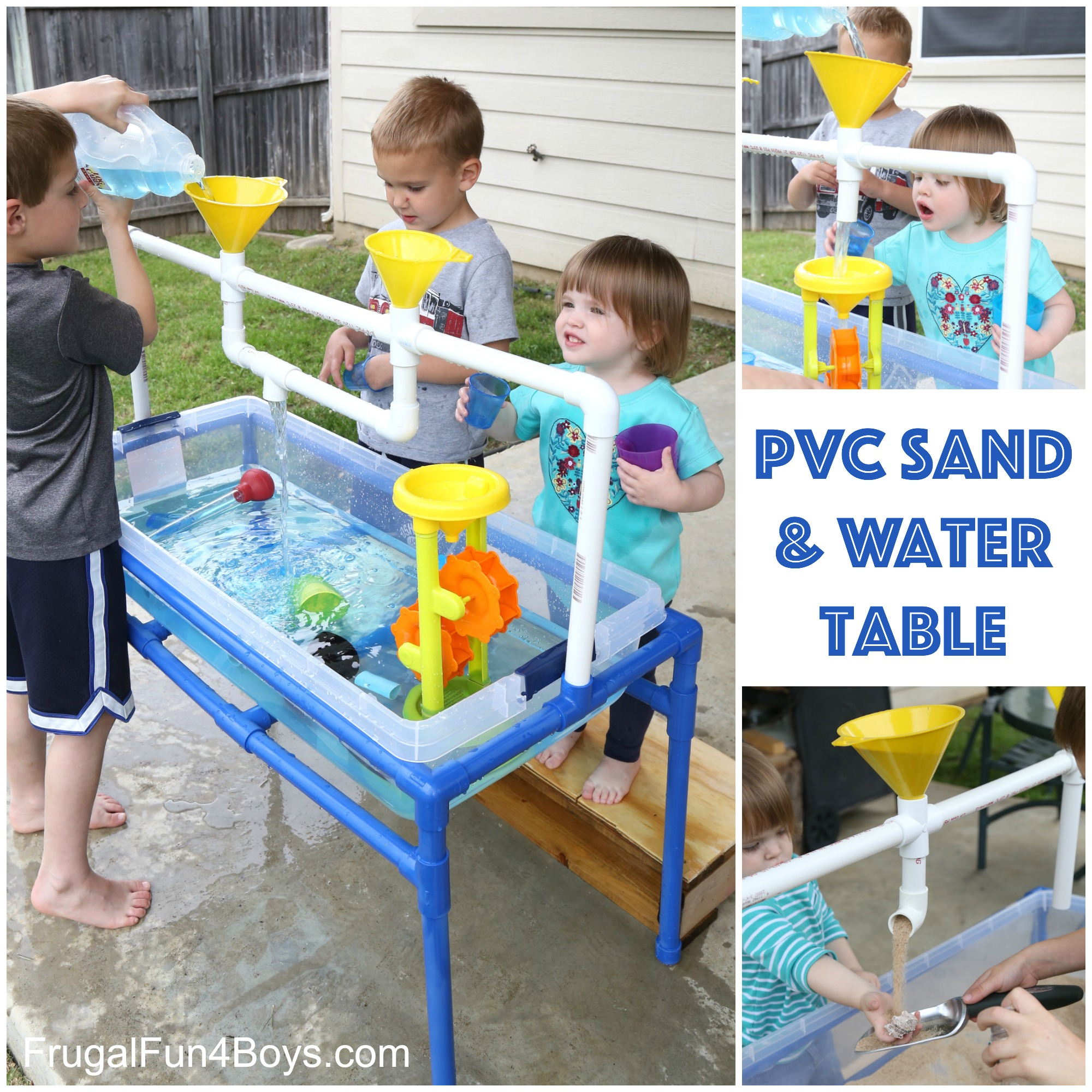how to create a water table