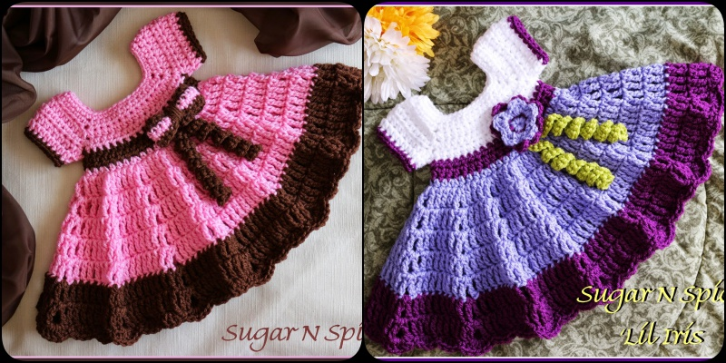 Crochet Sugar N Spice Dress with Free Pattern