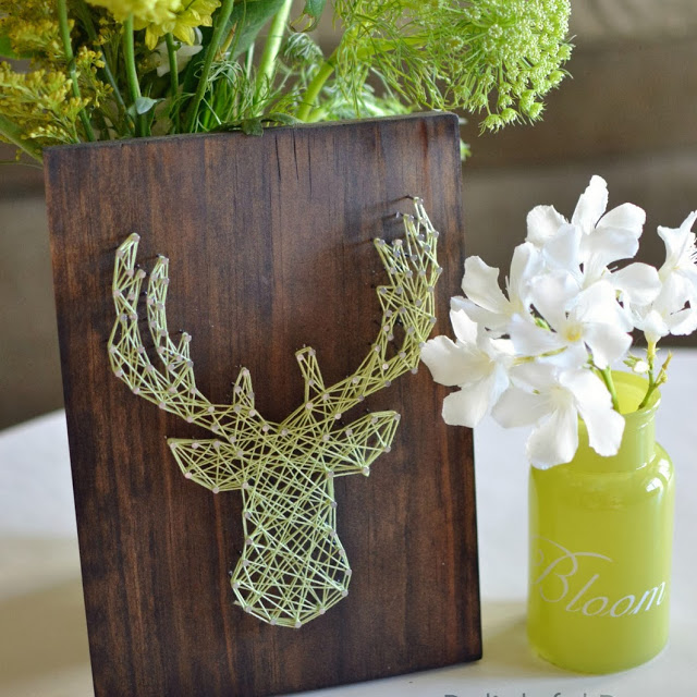 cutest deer string art