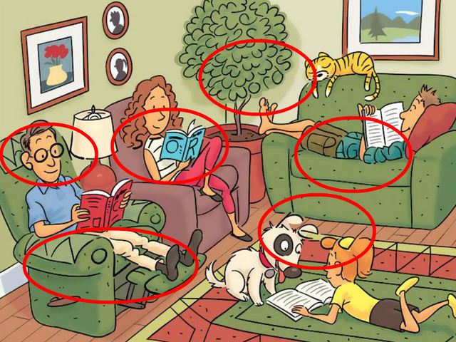 Can You Find 6 Words Hidden In This Puzzle?