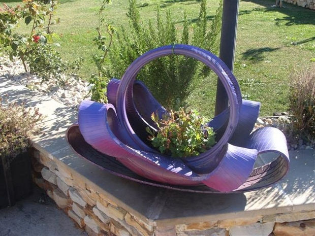 19 DIY Tire Planter - Page 3 of 3 - photo#39