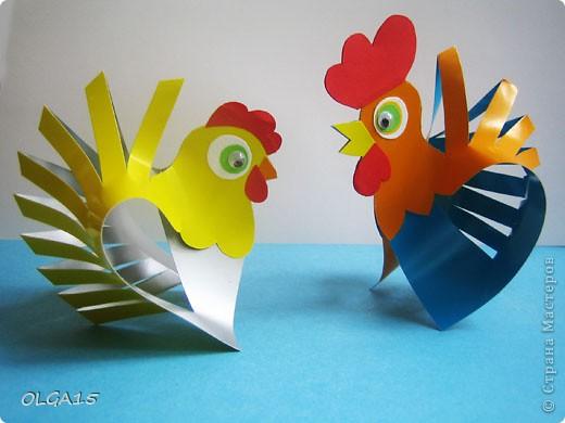 Как сделать объемную курицу