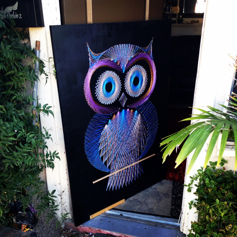 Oscar the Owl String Art