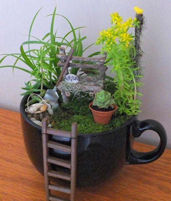 Cute Tea Cup Garden