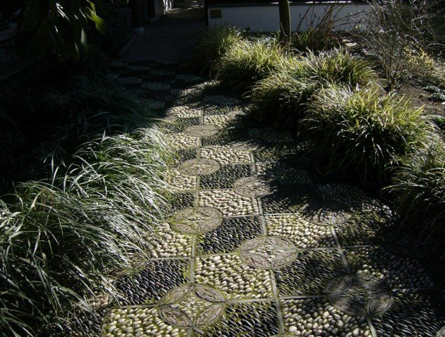 30 cool pebble pathway ideas for your garden