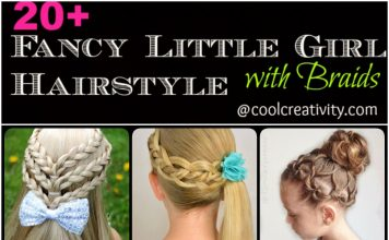 At last, remember to add some pretty hair accessories into your new braided hairstyle to make it look more fabulous.