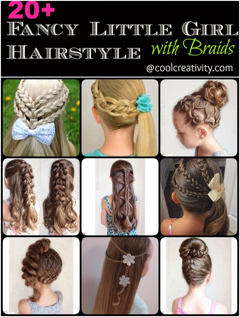Brilliant 20 Fancy Little Girl Braids Hairstyle Hairstyles For Men Maxibearus