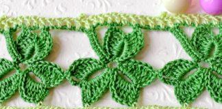 Crochet Trefoil Lace edging