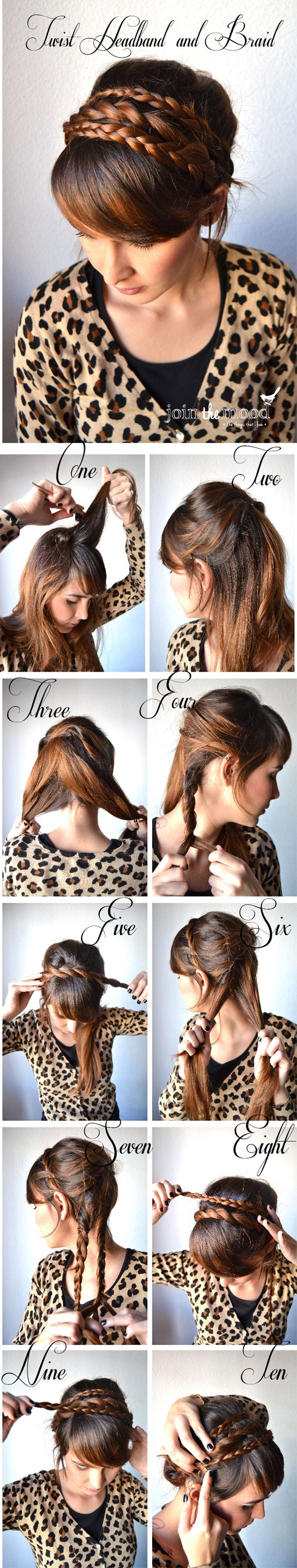 A Collection of 20 Chic Hairstyles for All Occasions --Braided Headband