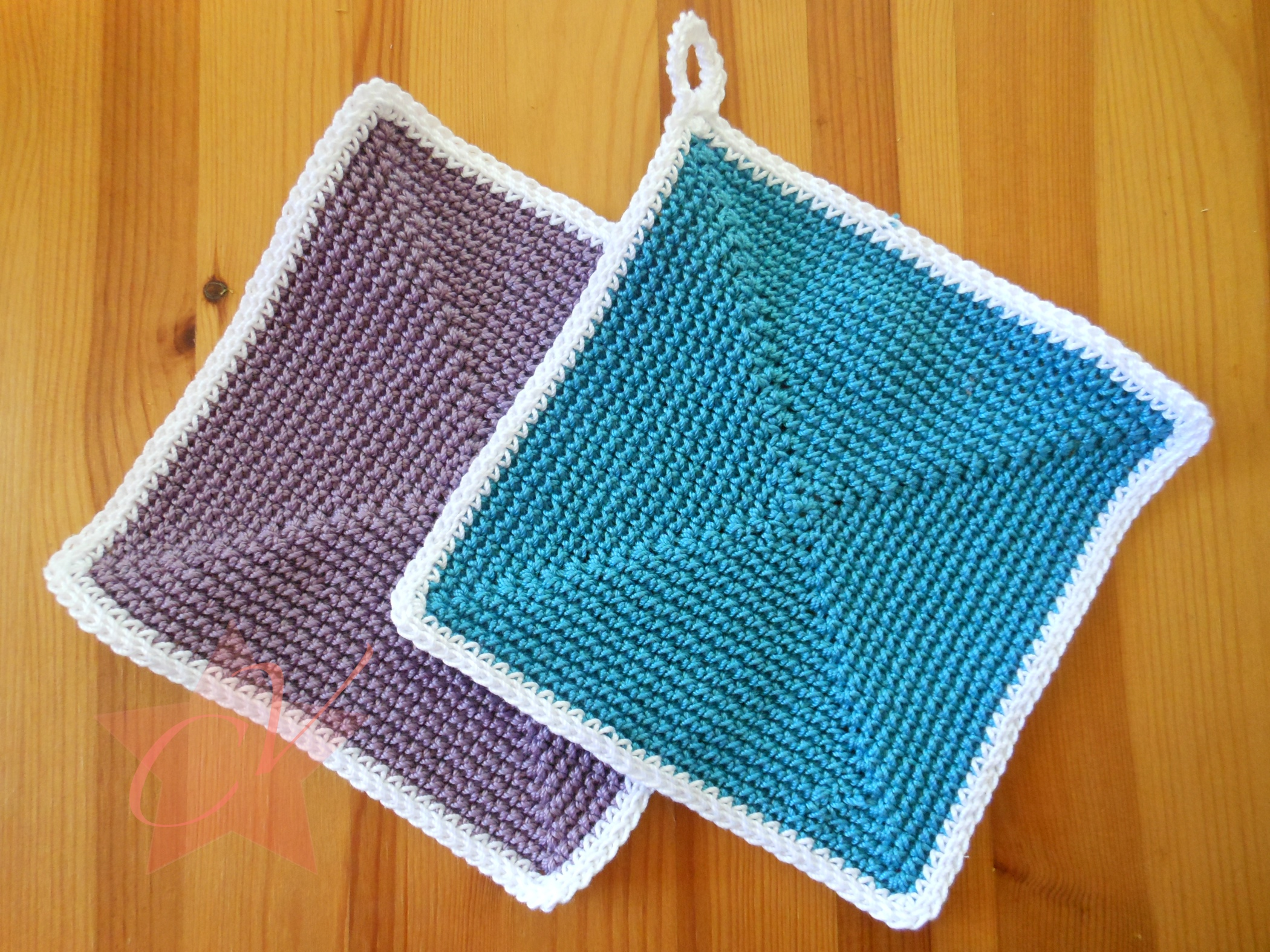 Square Pot-Holder FREE Crochet Pattern