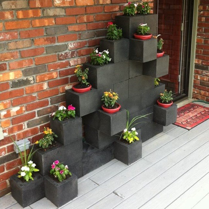 17 Best Seating Wall Ideas Images On Pinterest: 40 + Cool Ways To Use Cinder Blocks