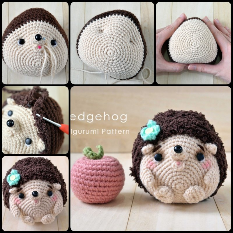 Knit Hedgehogs With Free Pattern
