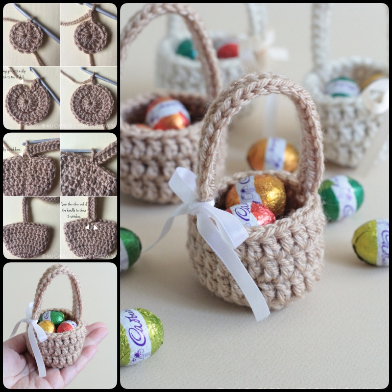 crochet mini baby shower favors with free patterns page 2 of 3