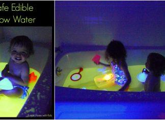 Edible Glow Water