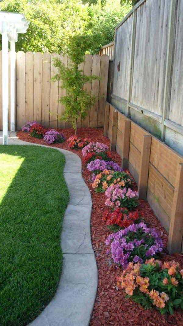 30 diy garden bed edging ideas page 2 of 3 for Cheap diy garden edging