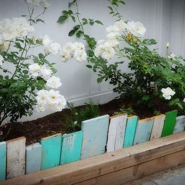 Garden Bed Border Ideas: 30+ DIY Garden Bed Edging Ideas