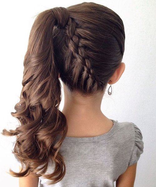 20+ Fancy Little Girl Braids Hairstyle