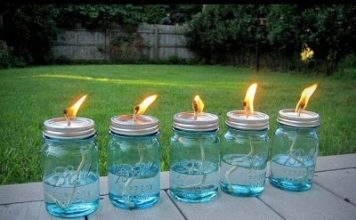 Homemade Mosquito Repellent Lamps