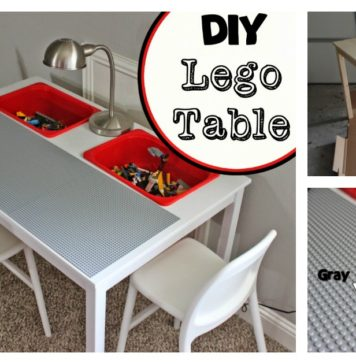 How To Transform a IKEA Table into Kids' LEGO Play Table