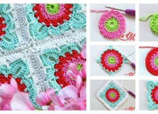 How to Crochet Granny Square Blanket