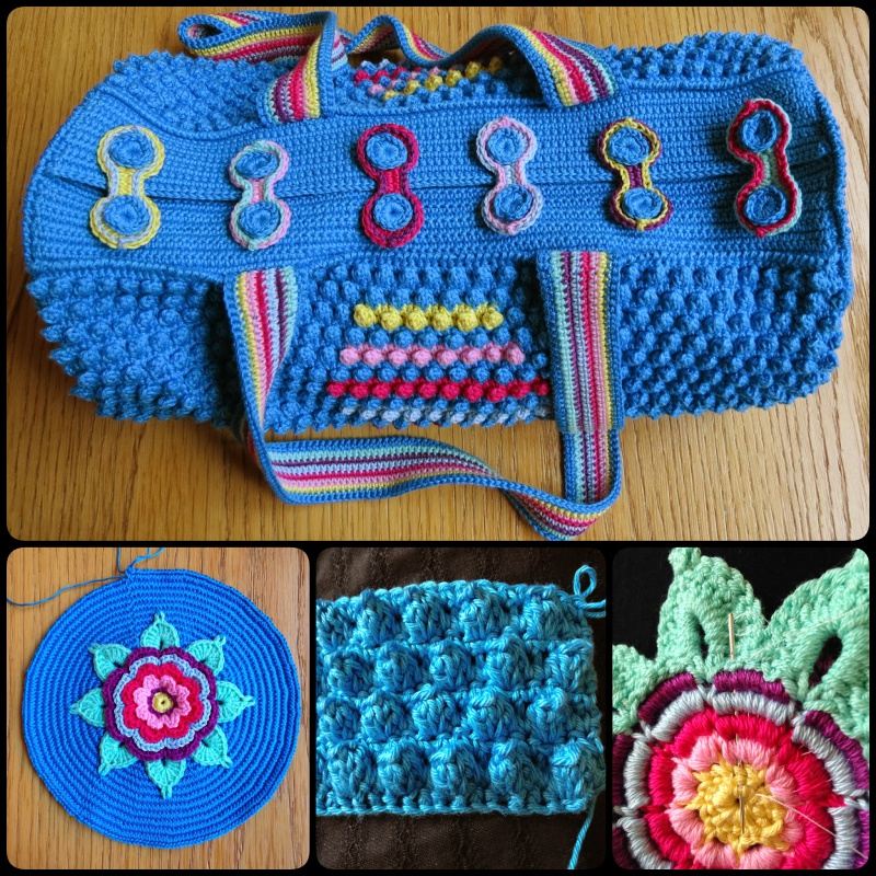 Free Crochet Round Bag Pattern -