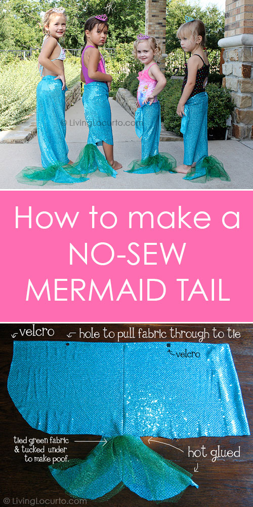 10 Diy Mermaid Tails Sewing No Sewing Page 2 Of 2