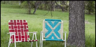 Make a Macrame Lawn Chair