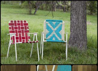 Make a Macrame Lawn Chair
