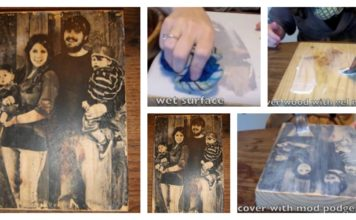 How to Transfer Photos Onto Wood (Video)