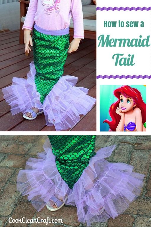 10 Diy Mermaid Tails Sewing Amp No Sewing