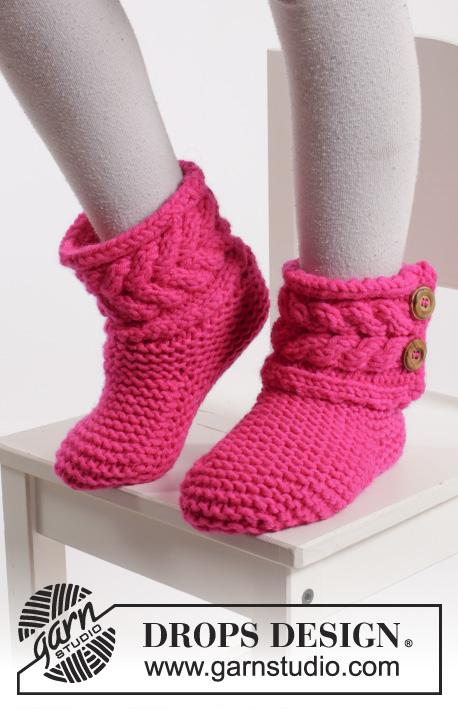 Free Knitting Pattern For Slipper Boots : 20+ DIY Slipper Knitting Patterns - Page 2 of 3