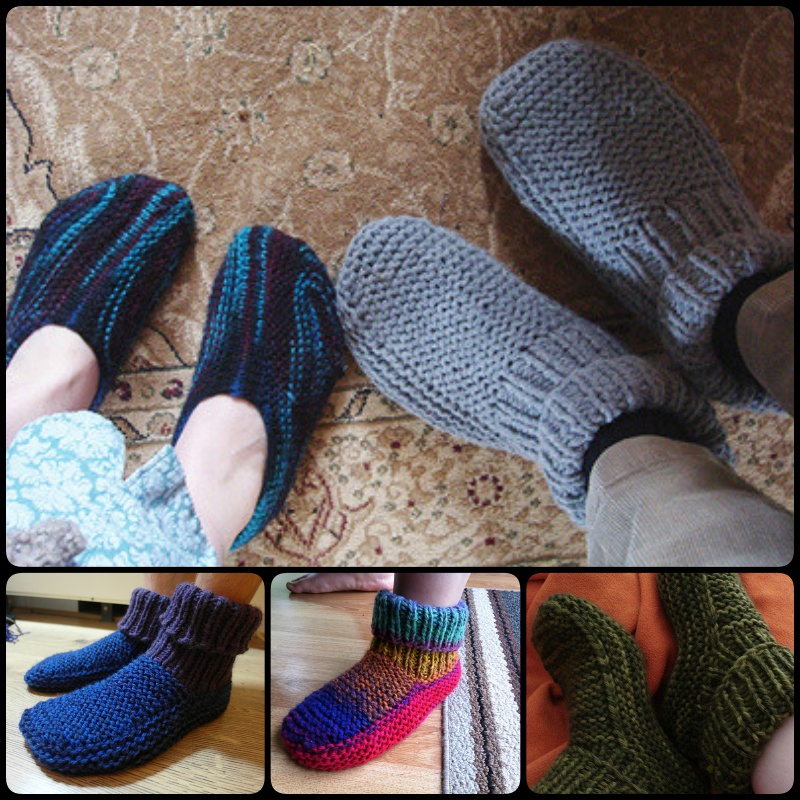 20+ DIY Slipper Knitting Patterns - Page 2 of 3