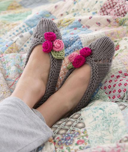 20 Diy Slipper Knitting Patterns