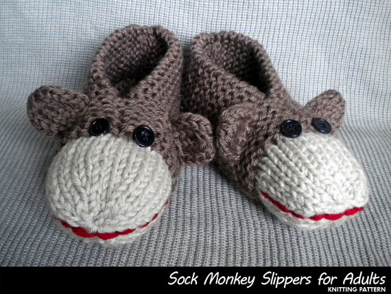 Knitting Gifts For Adults : Diy slipper knitting patterns page of