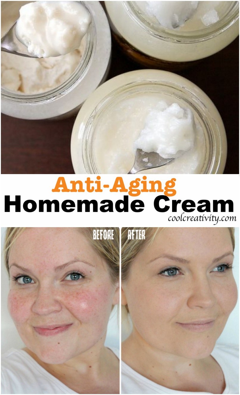 Simple Ingredients for Homemade Anti-Aging Cream