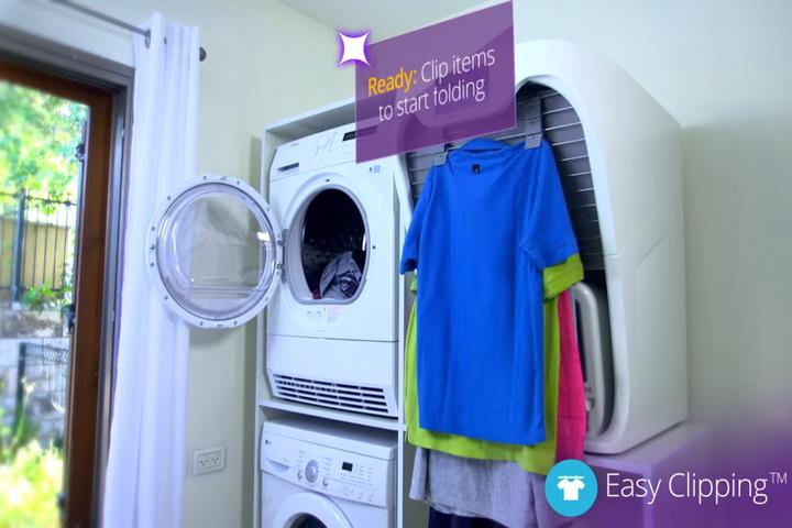 The Smart Laundry Folding Machine