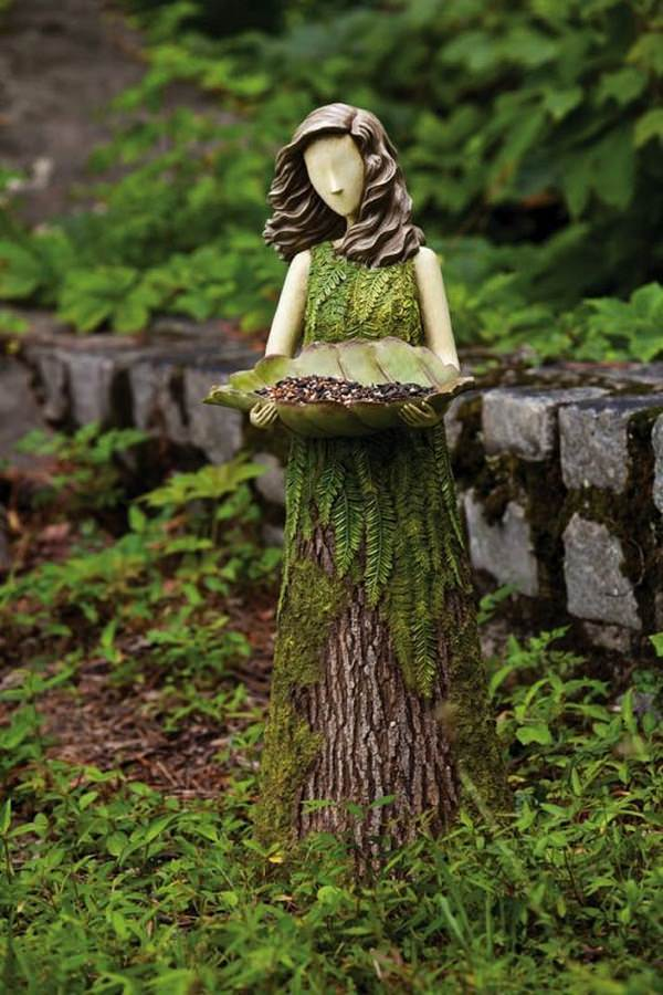 20  recycle old tree stump ideas
