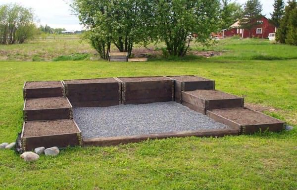 Use Pallet Collars For Raised Bed