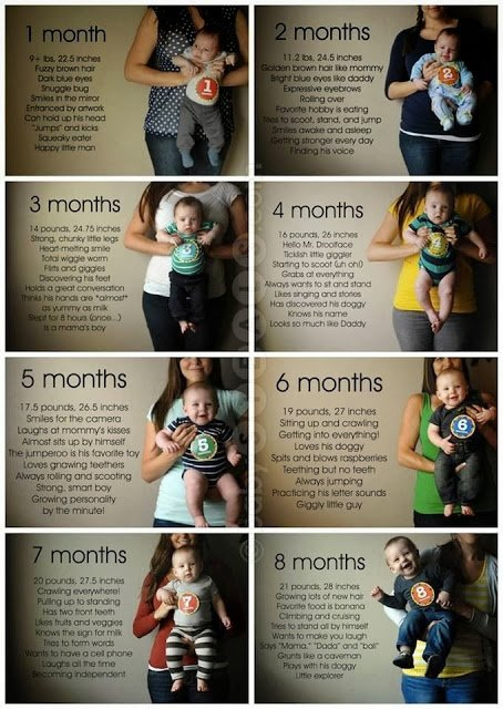 20 Creative Monthly Baby Photo Ideas For Baby S 1st Year