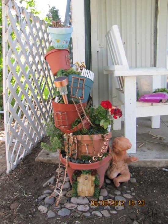 tipsy pot planter