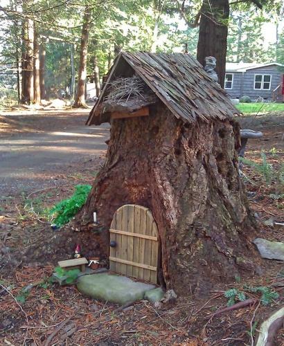 Tree Stump: 20+ Recycle Old Tree Stump Ideas