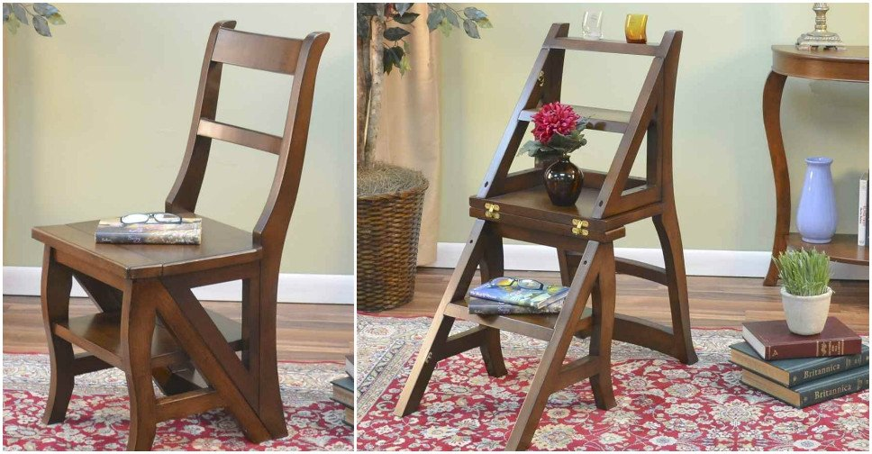 How to Build a Fold-Over Library Chair: Ladder Chair
